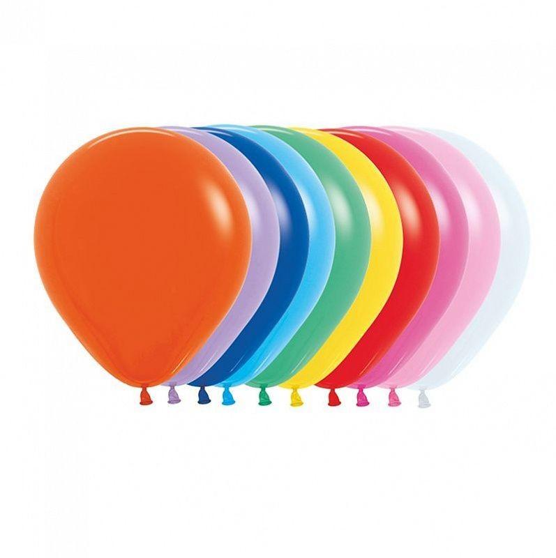 Латексный шар без рисунка