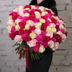 Розы одноголовые